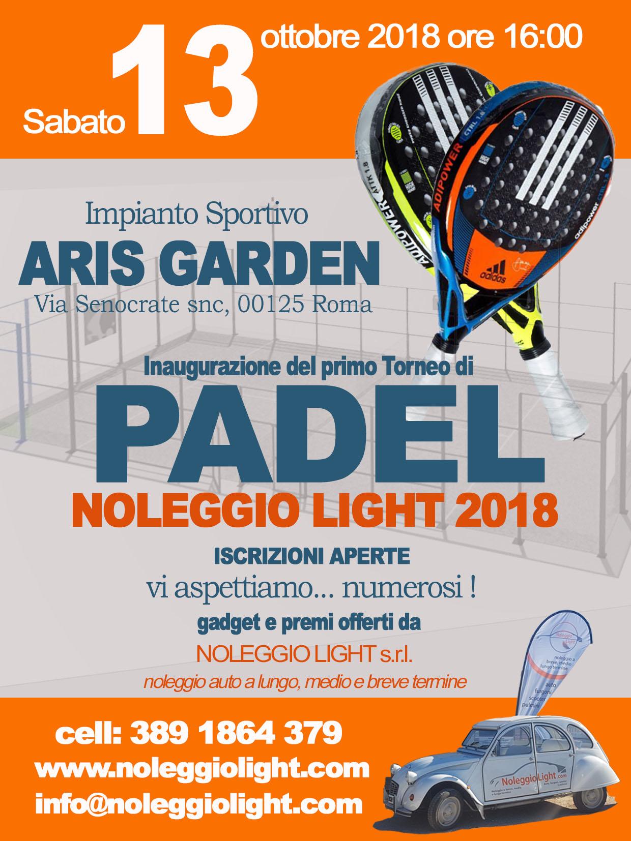 Aris Paddle 13-10-18 1° Torneo